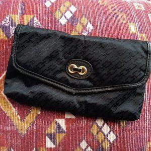 Black Gold Vintage Wallet